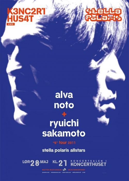 Stella Polaris og DR Koncerthus præsenterer Alva Noto + Ryuichi Sakamoto